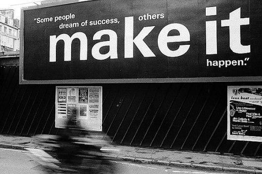 Одни люде только мечтают, в то время, как другие осуществляют эти мечты в жизнь
