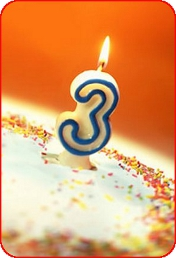 сайту Саморазвитие. Личностный рост. Сегодня нам исполнилось 3 года!!!
