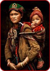 Как воспитывают детей в Тибете