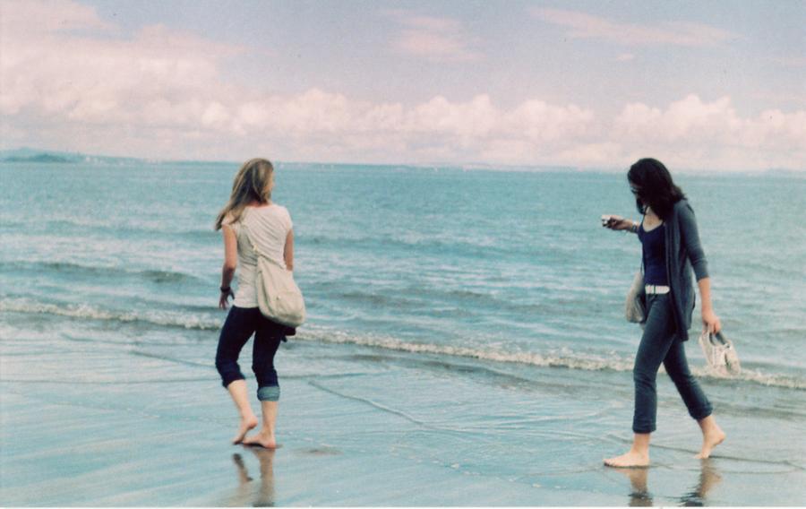 Радость при виде моря