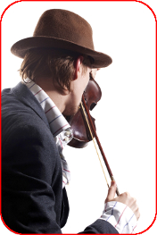 парень играет на скрипке via Shutterstock