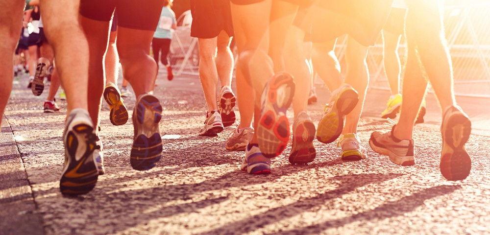 марафон, бег, соревнования, via shutterstock