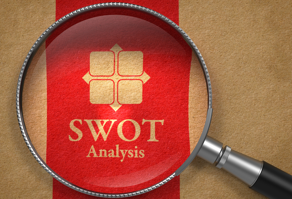 SWOT Analysis Concept, via shutterstock