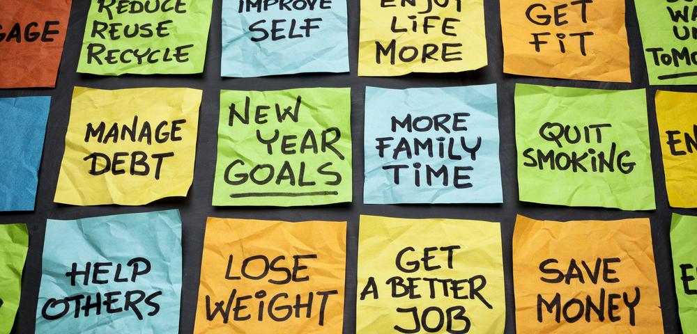 цели, новый год, via shutterstock