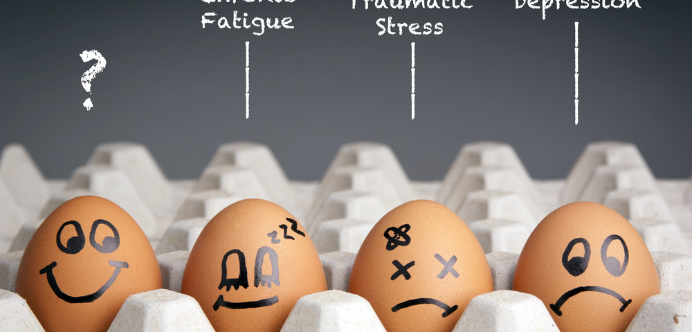 душевные состояние на примере яиц, via shutterstock