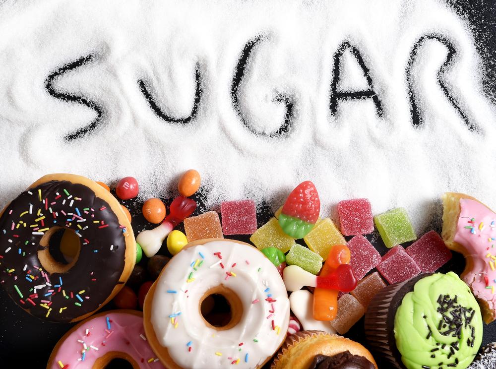 много сахара, via shutterstock