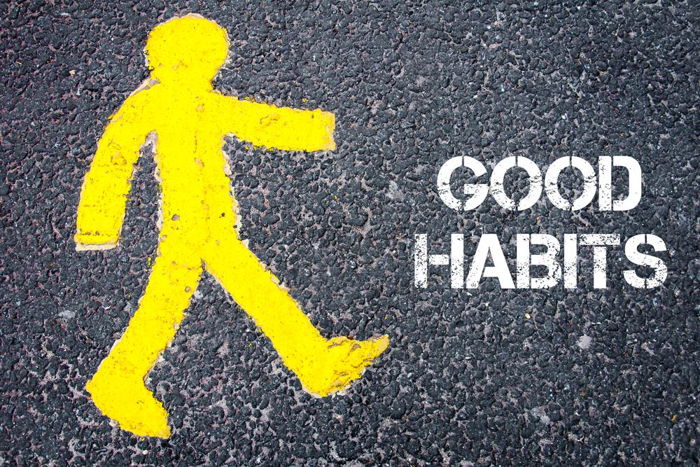 хорошие привычки, via shutterstock