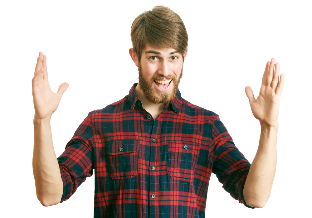 мужчина, в рубашке, via shutterstock