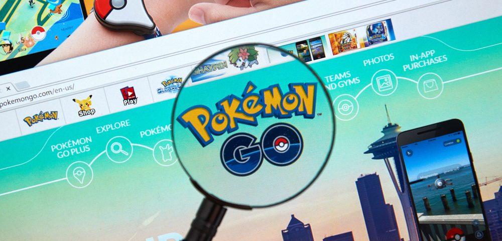 Pokémon Go, via shutterstock