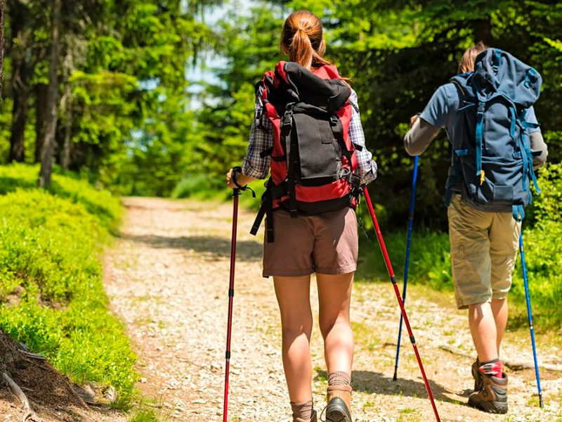 Скандинавская ходьба. Польза и техника выполнения